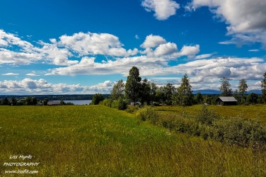 sweden landscape bicycle tour trip travel ostersund