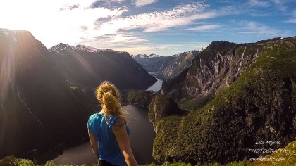 Tafjord Tafjorden Flyene fjords of Norway hike vandring fjelltur mountain view Norddal