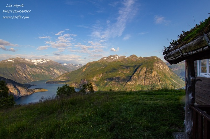 tafjordfjella fjords utsikt paniramic view mountain pasture seter klovset valldalen landscape