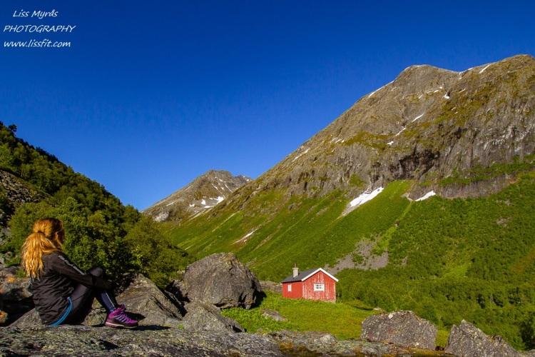 tafjordsetra trails muldalssetra muldalen landscape hiking seter cabins easy hike