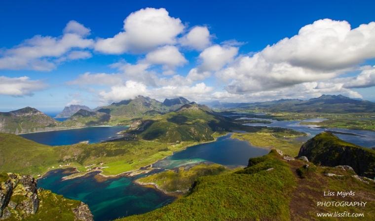 offersøykammen lofoten landscape topptur travel Norway