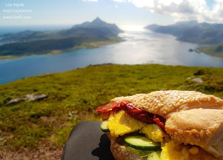turmat sandwich Lofoten