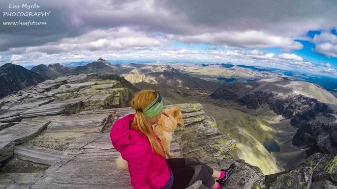 torronden topptur varde cairn 2000m peak panoramic scenic rondane nasjonalpark norway