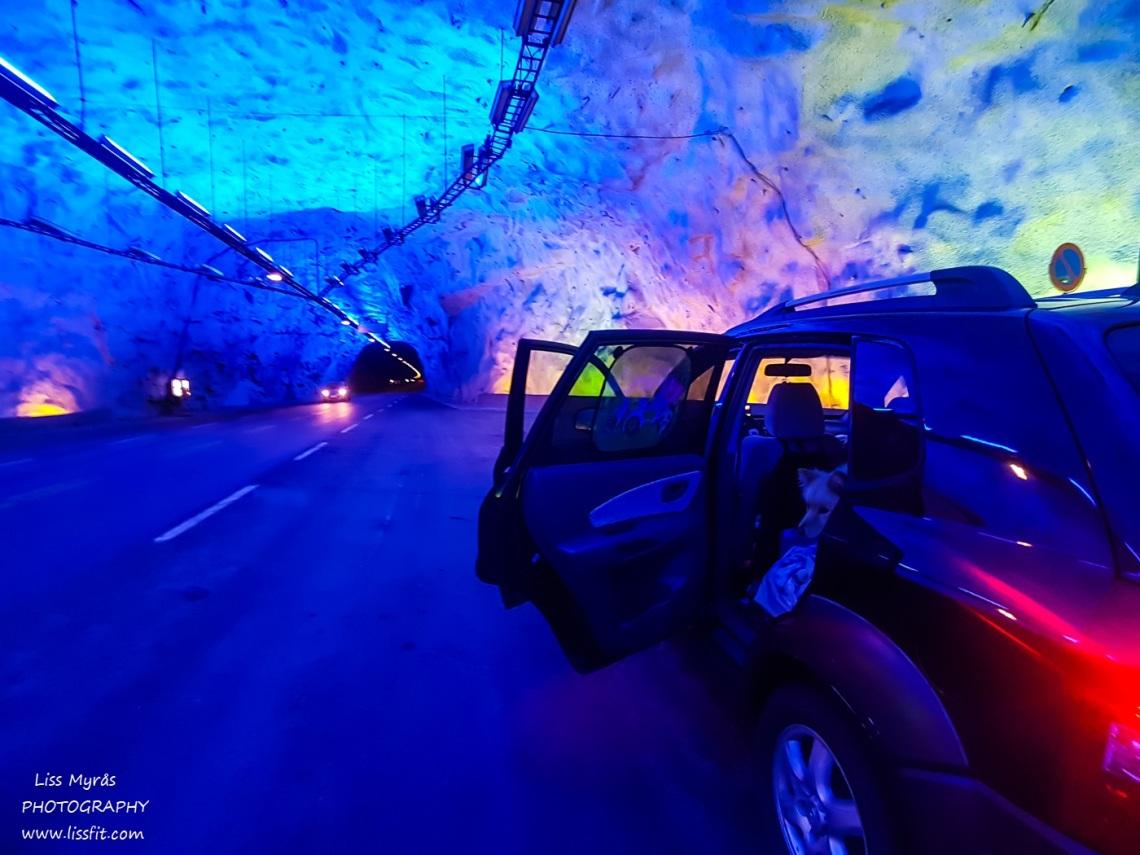 Laerdalstunnellen Lærdal tunnel roadtrip Norway