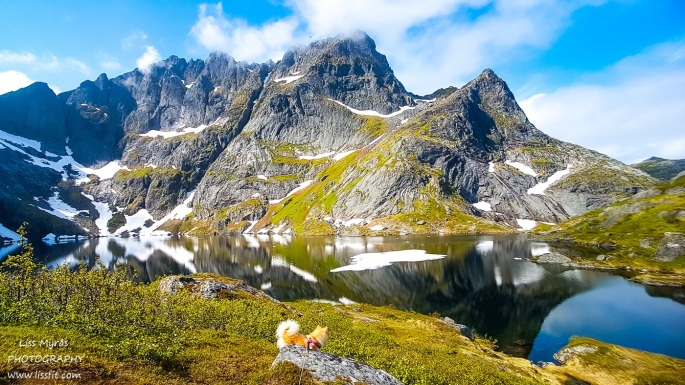 Svartvatnet Lofoten hike