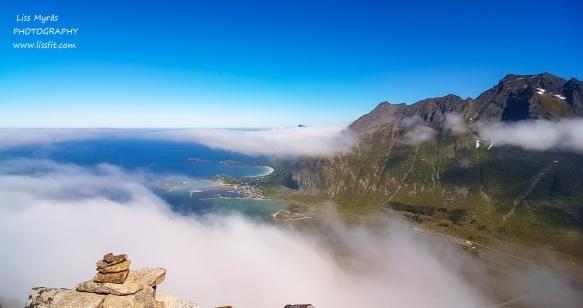 View towards Ramberg