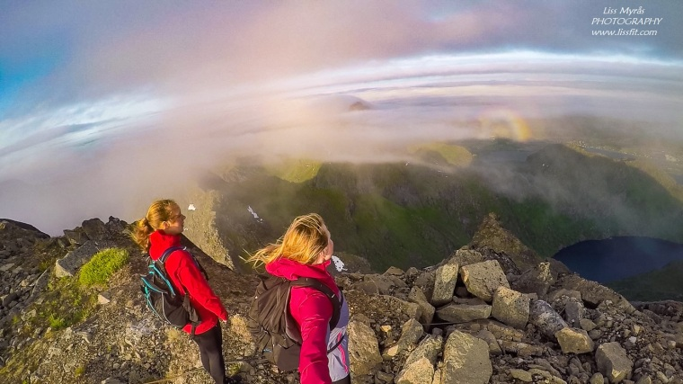Himmeltindan hike Lofoten
