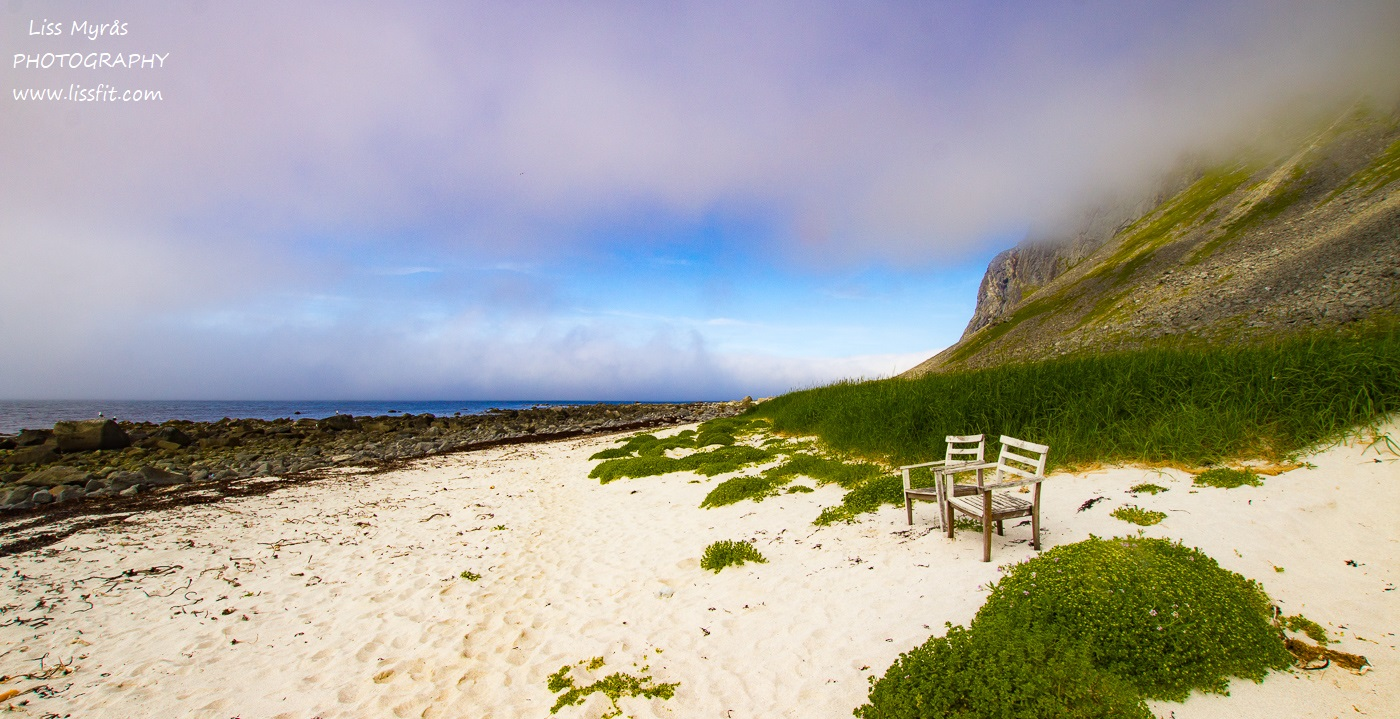 Hornneset headland hiking seaside seashore vandring tur relax easy Lofoten