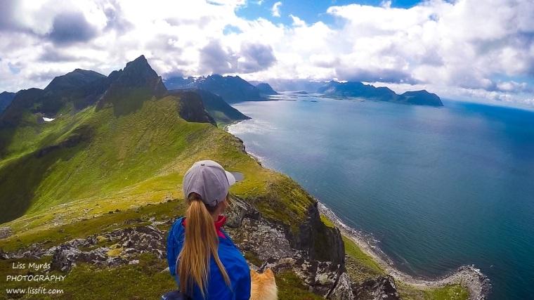 Møntinden Lofoten hiking