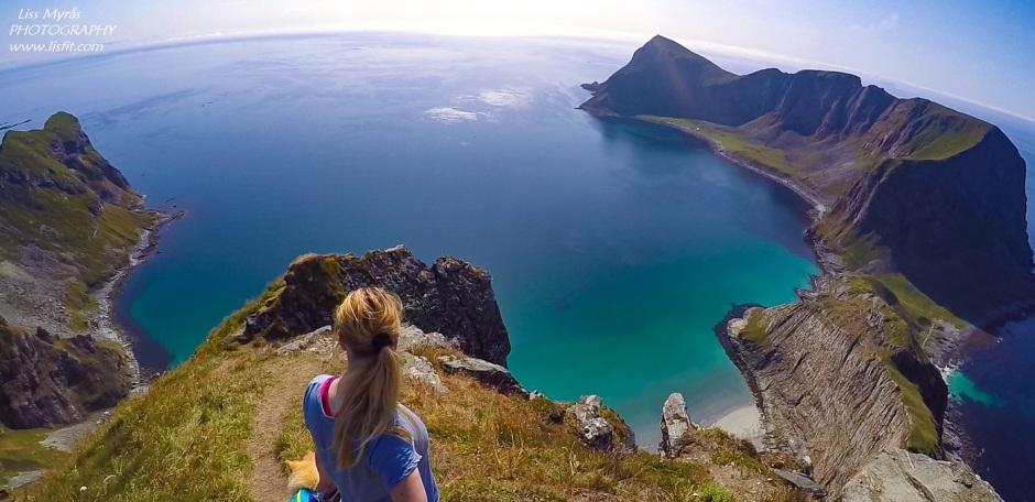 værøy håheia lofoten hiking landscape vaeroy beach nato