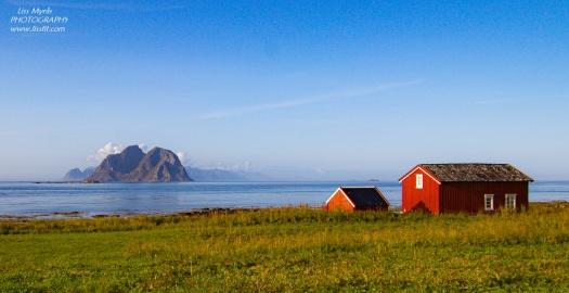 Mosken Nordlandshagen Lofoten Værøya