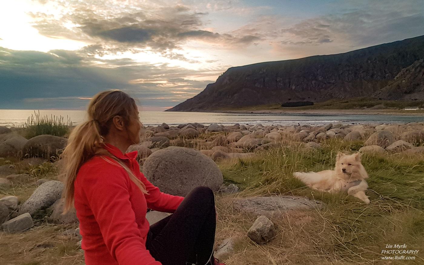 Unstad beach camping Lofoten