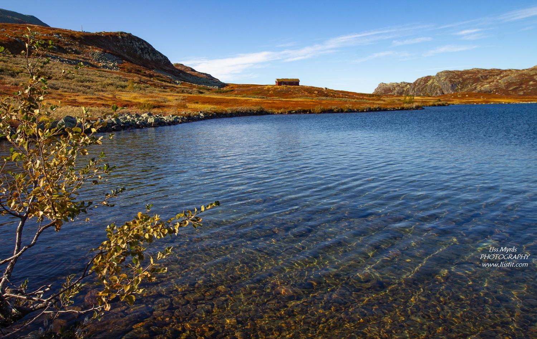 Heddersvatn hytte Gaustatoppen cabin mast landscape