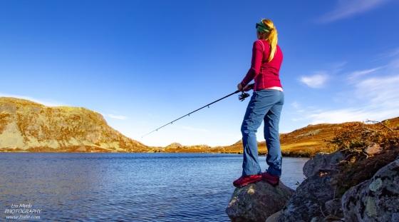 Fishing heddersvatn telemark fisketur tinn gaustatoppen friluftsliv norway outdoors