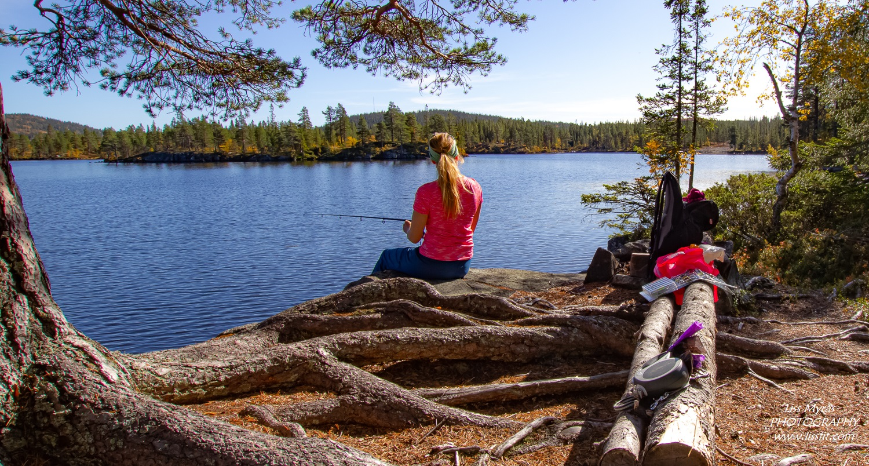 fishing fisketur Telemark tuddal hjartdal