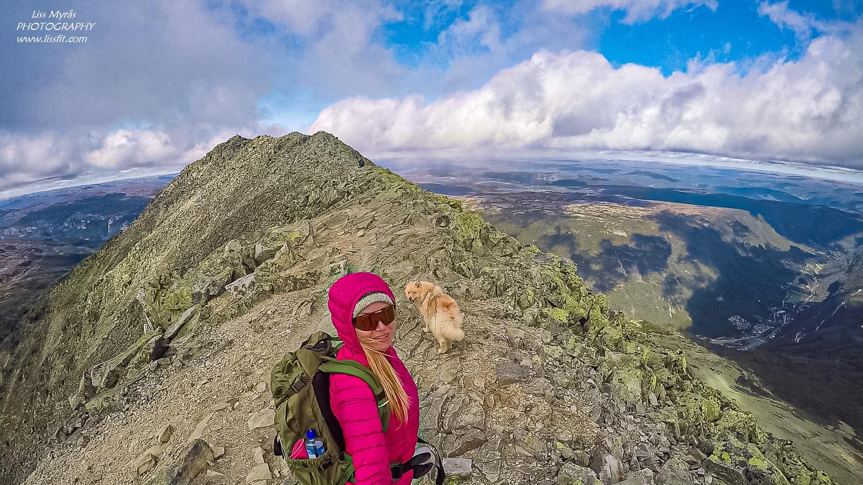 Gaustatoppen ridge hike rjukan telemark travel blog