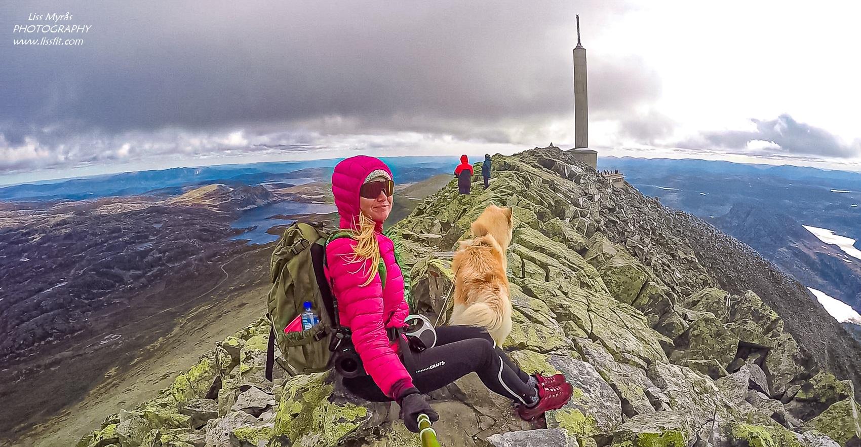 Gaustatoppen hike ridge hike Telemark