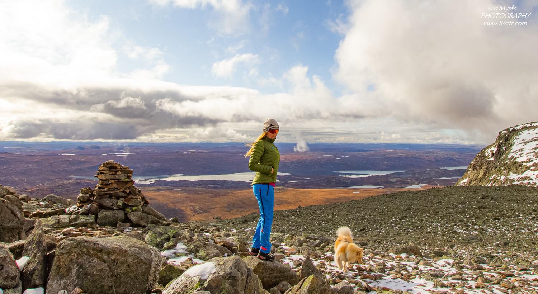 Hallingskarvet national park views Geilo turblogg